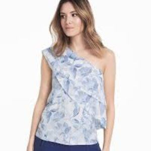 WHBM One Shoulder Top Size MP